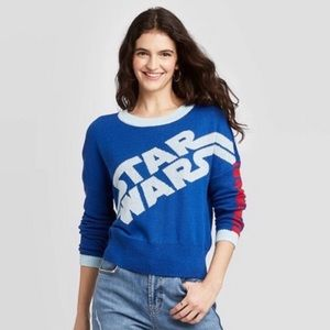 Retro Star Wars Crew Neck Sweater XL